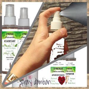 Spray aux huiles essentielles