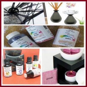 Parfum d'ambiance : Bouquet parfumé, Spray, Sable, Parfum