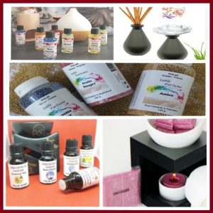 Parfum d'ambiance : Bouquet parfumé, Spray, Sable, Concentré, Extrait