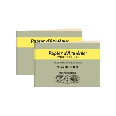 carnet-papier-armenie-classique-vert