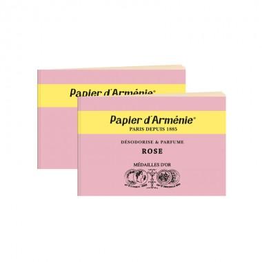 carnet-papier-armenie-rose-parfum-desodorisant