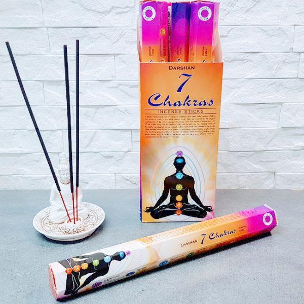 batons-encens-indien-darshan-7-chakras